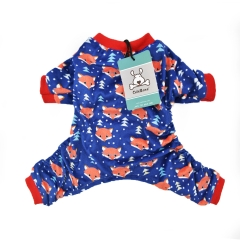 CuteBone DarkBlue Fox Pajamas P23